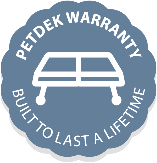 PetDek Lifetime Warranty